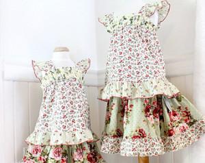 spódnice dla dziewczynek w kwiaty na specjalne okazje