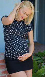 spódniczka mini ciążowa